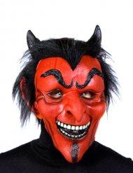 Máscara de diablo látex Halloween