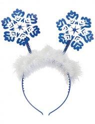 Diadema copos de nieve Navidad mujer