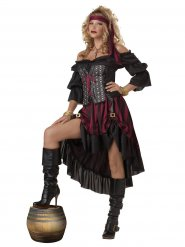 Disfraz pirata mujer lujo