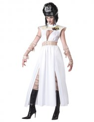 Disfraz zombie monstruo Halloween mujer