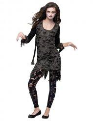 Disfraz zombie Halloween mujer