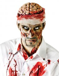 Cerebro ensangrentado adulto Halloween