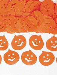 Confetis fiesta Halloween calabaza naranja 14g