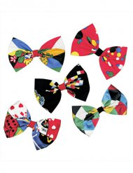 Pajarita payaso multicolor