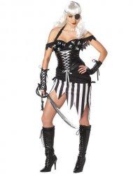 Disfraz pirata gótico mujer Halloween