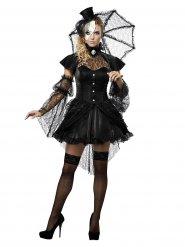 Disfraz muñeca gótica mujer Halloween