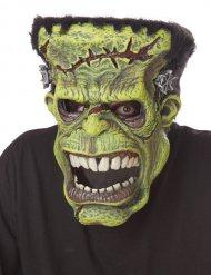 Máscara articulada monstruo verde ani-motion™ adulto