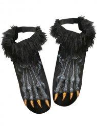 Cubrebotas pies de hombre lobo