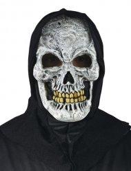 Máscara esqueleto con capucha Halloween