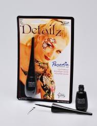 Maquillaje líquido profesional negro Mehron™ 7.5 ml