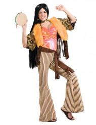 Disfraz hippie años 60-70 mujer