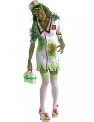 Disfraz zombie enfermera Halloween