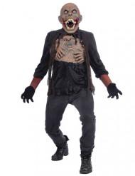 Disfraz monstruo mutante adulto