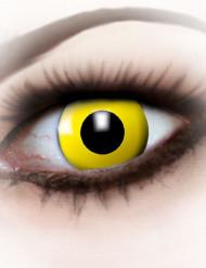 Lentillas fantasía ojo amarillo adulto