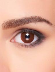 Lentillas fantasía ojo marrón adulto