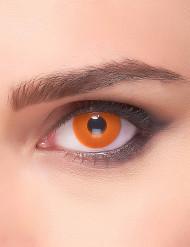 Lentillas fantasia ojo naranja adulto