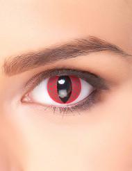 Lentillas fantasía ojo dragón rojo adulto