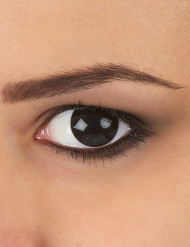 Lentillas fantasia ojo negro 1 año adulto