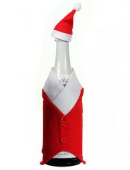 Decoración Navidad para botella 24 cm