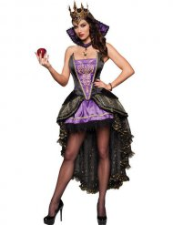 Disfraz reina maléfica mujer