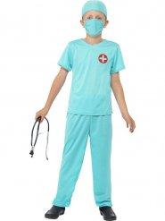 Disfraz doctor cirujano niño
