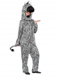Disfraz mono cebra adulto
