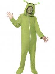 Disfraz traje de extraterrestre para niño