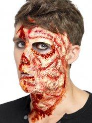 Cicatrices de quemada látex Halloween