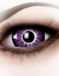 Lentillas fantasía 3 tonos violeta adulto