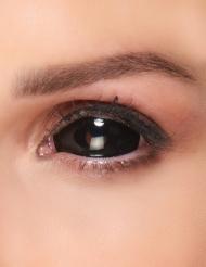 Lentillas fantasía ojo negro adulto