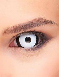 Lentillas fantasia ojo negro y blanco adulto