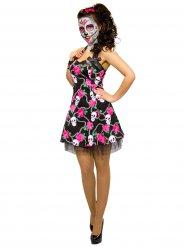 Disfraz vestido calavera Día de los muertos