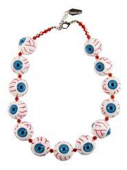 Collar Kreepsville cadena ojos arrancados