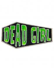 Parche gótico Dead Girl verde