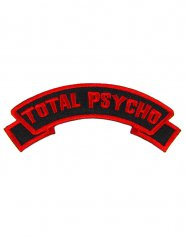 Parche rojo Total psycho