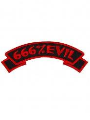Parche gótico 666%