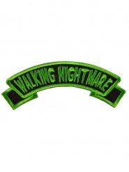 Parche Walking Nighmare verde y negro