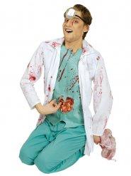Disfraz cirujano manchado de sangre hombre Halloween
