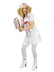Disfraz enfermera ensangrentada mujer Halloween