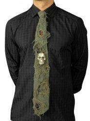 Corbata Halloween con calavera