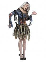 Disfraz zombie mujer Halloween