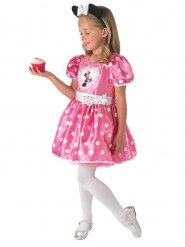 Disfraz de lujo cupcake Minnie™ niña