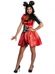Disfraz de ratón zombie Halloween mujer