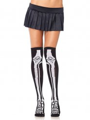 Medias algodón esqueleto mujer Halloween