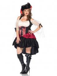 Disfraz pirata barroco sexy mujer