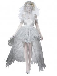 Disfraz novia fantasma mujer Halloween