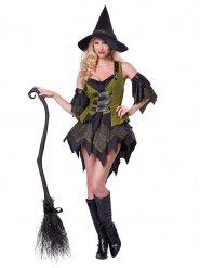 Disfraz bruja encantada