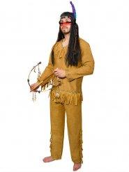 Disfraz indio con flecos hombre