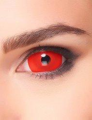 Lentilla fantasia ojo rojo adulto