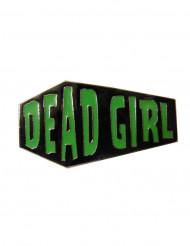 Anillo dos dedos ataúd Dead Girl